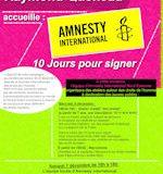 Samedi 7 décembre : «10 jours pour signer», à la médiathèque et place de l'Orge à Juvisy-sur-Orge
